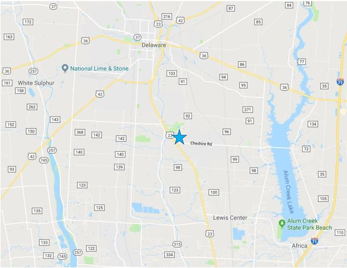 3769 Columbus Pike Map