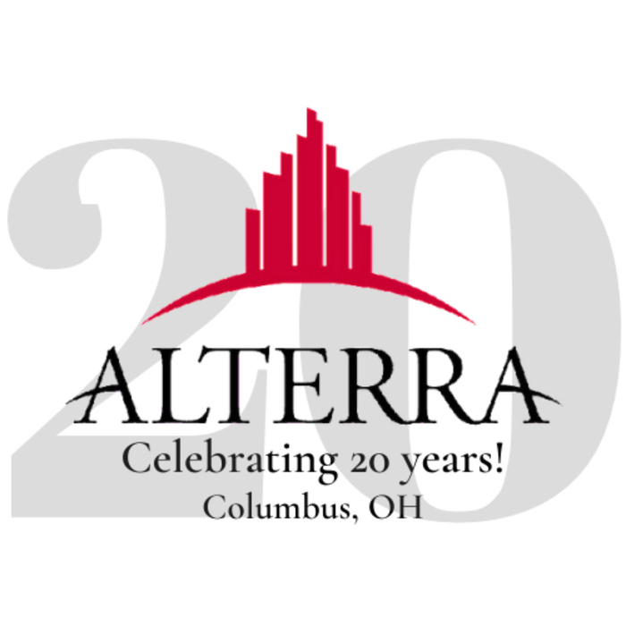 Alterra 20 years logo